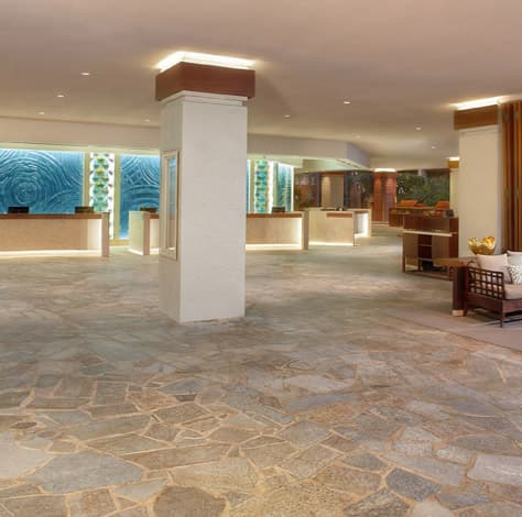 Rejuvenated Main Lobby