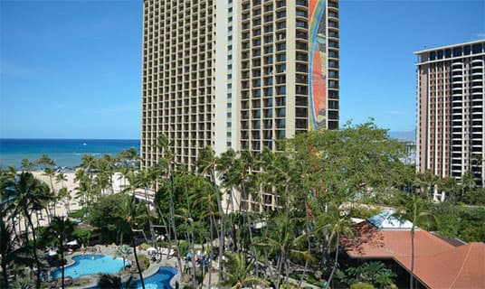 Alii Tower Resort Partial Ocean View